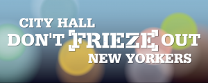 CALL TO FREEZE FRIEZE