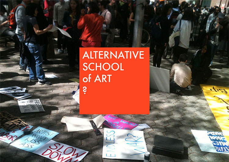 Alternative School of Art? CAA 2015 Workshop